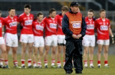 Leading contender for Cork football manager job to decide this week on candidacy