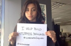 Women engineers are sharing their photos to fight sexism in tech