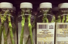 An American shop was caught rapid selling this crap asparagus 'flavoured' water