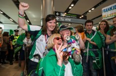 Ireland's Special Olympics team had a hero's welcome at Dublin Airport today