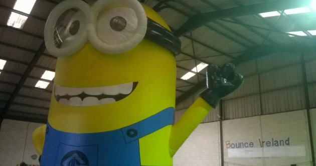 'I'm not afraid of the giant Minion' – we spoke to the man tasked with fixing the beast