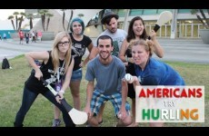 'I'm just a little confused' – Americans get their first taste of hurling