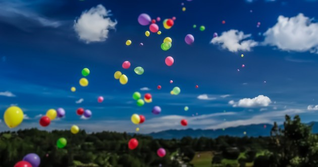 Sure, they look pretty – but charity balloon releases are killing birds and dolphins