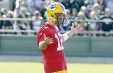 Why Aaron Rodgers throws a load of interceptions in practice and doesn't care