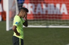 Neymar out for two weeks with mumps