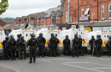 Four people arrested following violent clashes in Belfast