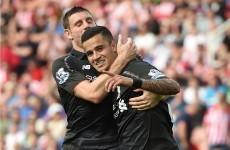 Coutinho's late, late magic show earns Liverpool narrow win over dogged Stoke