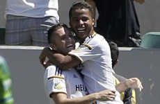Robbie Keane scores and provides an assist for an ex-Spurs team-mate