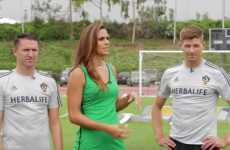 Robbie Keane takes on Steven Gerrard in pick-up challenge