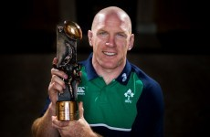 Paul O'Connell picked up another award for the mantelpiece this evening