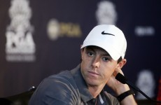 'I looked down and 30 seconds later it got the size of a tennis ball' – McIlroy on ligament injury