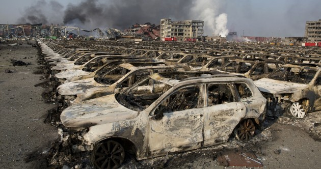 Tianjin: Explosion death toll rises to 50 as devastation is revealed