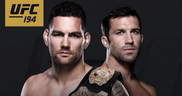 Weidman's next UFC title defence officially added to the Aldo vs. McGregor card