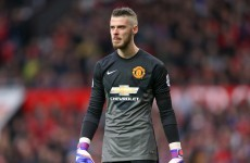 David de Gea 'shocked' by Man United omission