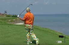 John Daly threw his club into Lake Michigan after a disaster at the PGA