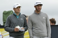 The remarkable difference between Jordan Spieth and Dustin Johnson at majors