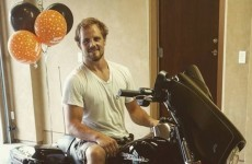 Rare Gunnar Nelson smile thanks to big birthday gift from McGregor and Dana