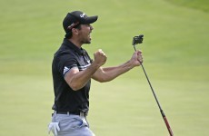 Jason Day holds off the challenge of the chasing pack to move closer to elusive major win
