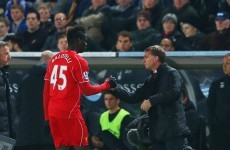 'Leave or play juniors' – Brendan Rodgers tells Mario Balotelli