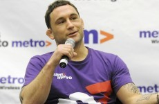Frankie Edgar says he's ready to step in if Jose Aldo pulls out again