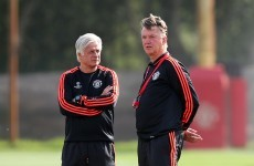 Pressure is all on Manchester United ahead of Champions League play-off, admits Van Gaal