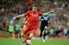 James Milner's free kick last night will feature in many end-of-year collections