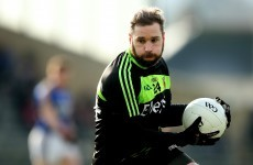 This Mayo forward has been ruled out of his county's quest for All-Ireland football glory