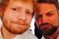 Ed Sheeran was a surprise guest at Ronan Keating's wedding… It's the Dredge