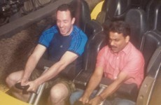 This Cork man took his taxi driver to a theme park because he had never been before