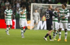 Old Bhoy haunts Celtic as late goal leaves Champions League tie in the balance