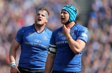 Leinster have a new captain with Jamie Heaslip away on World Cup duty