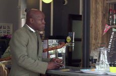 Almost 2 decades on, Chris Eubank makes Alan Partridge's dream a reality