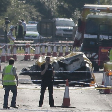 11 people thought to have been killed in West Sussex plane crash