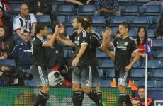 Pedro inspires 10-man Chelsea to edge past West Brom