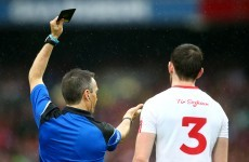 'It just doesn't seem to make sense' – Mickey Harte baffled by black card rule
