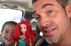 This dad's sweet reaction to his son buying an Ariel doll is going viral