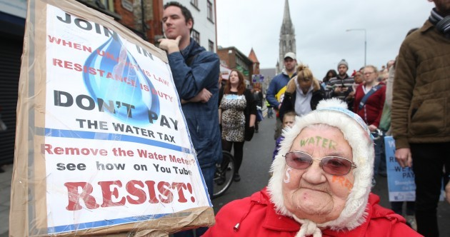 "Fifth mass rally of the ""stunningly successful"" Right2Water campaign this weekend"