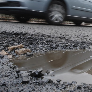 You could help fix potholes by driving over them