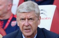 Arsene Wenger hits back at Gary Neville jibe