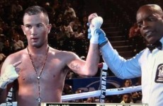 John Joe Nevin keeps unbeaten pro record intact with TKO on boxing return