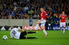 What drought? Rooney treble seals Champions League return