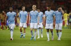 Lazio crash out of the Champions League