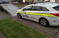 Two in court after garda was injured in patrol car ramming