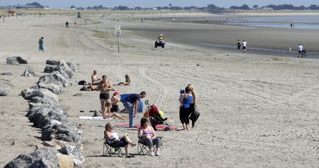 Planning a trip to Dollymount Strand? You're not allowed to swim there today