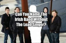 Can You Name The Irish Band Without The Lead Singer?
