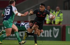 Munster hand first start to All Black Saili for London Irish meeting