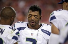 Russell Wilson has made a bizarre claim about how he prevented a concussion