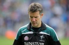 Jason Ryan has resigned as Kildare's senior football manager