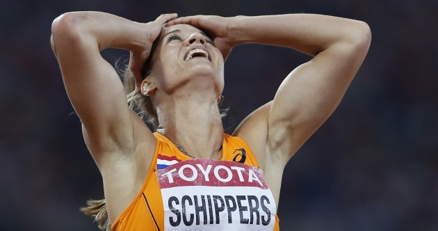 Dafne Schippers just won the women's 200m with the fourth-fastest time EVER