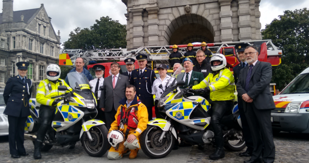 600 emergency services workers to parade through the streets of Dublin